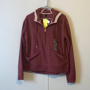 All in Motion Fleece Pull Over Sweater M